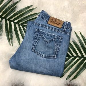 Marc by Marc Jacobs straight leg blue jeans